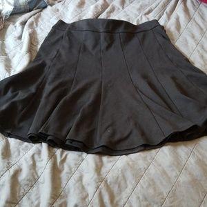 Maurices Black Flare Skirt, Medium